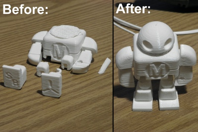 Makey Before and After